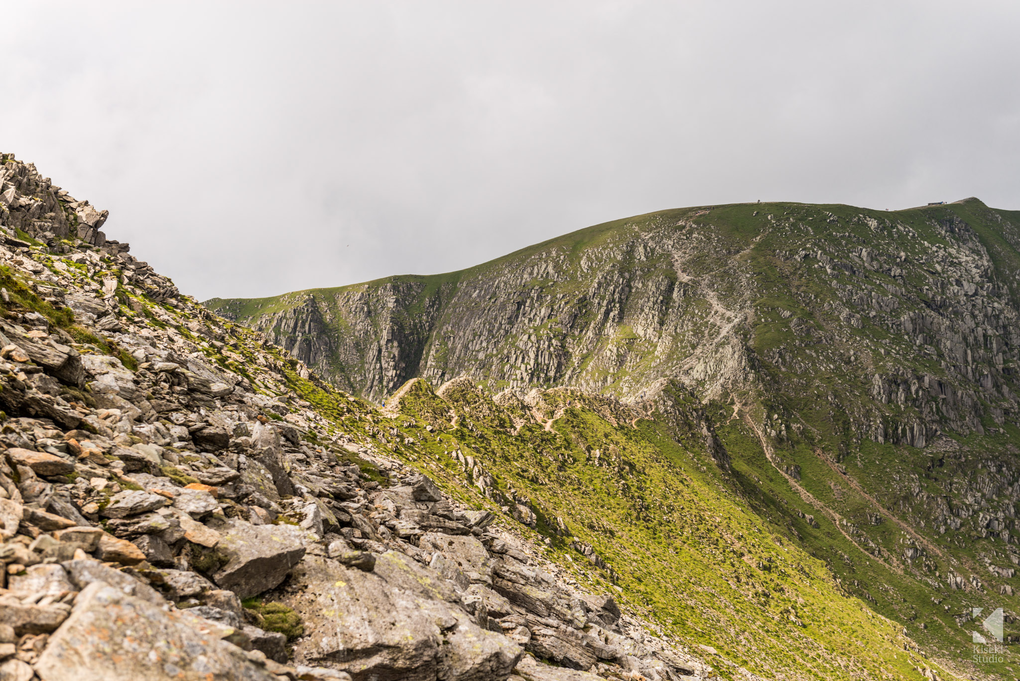 Striding Edge path to Hellvellyn