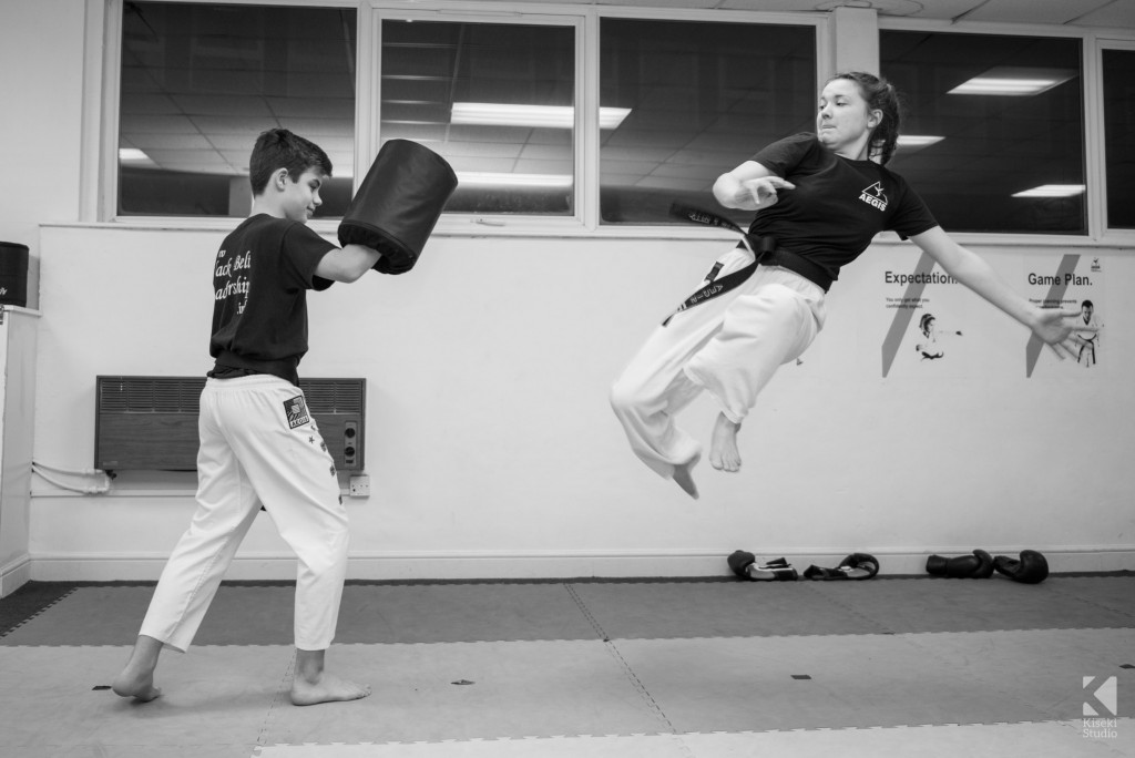 Aegis Martial Arts Leeds – Training Session