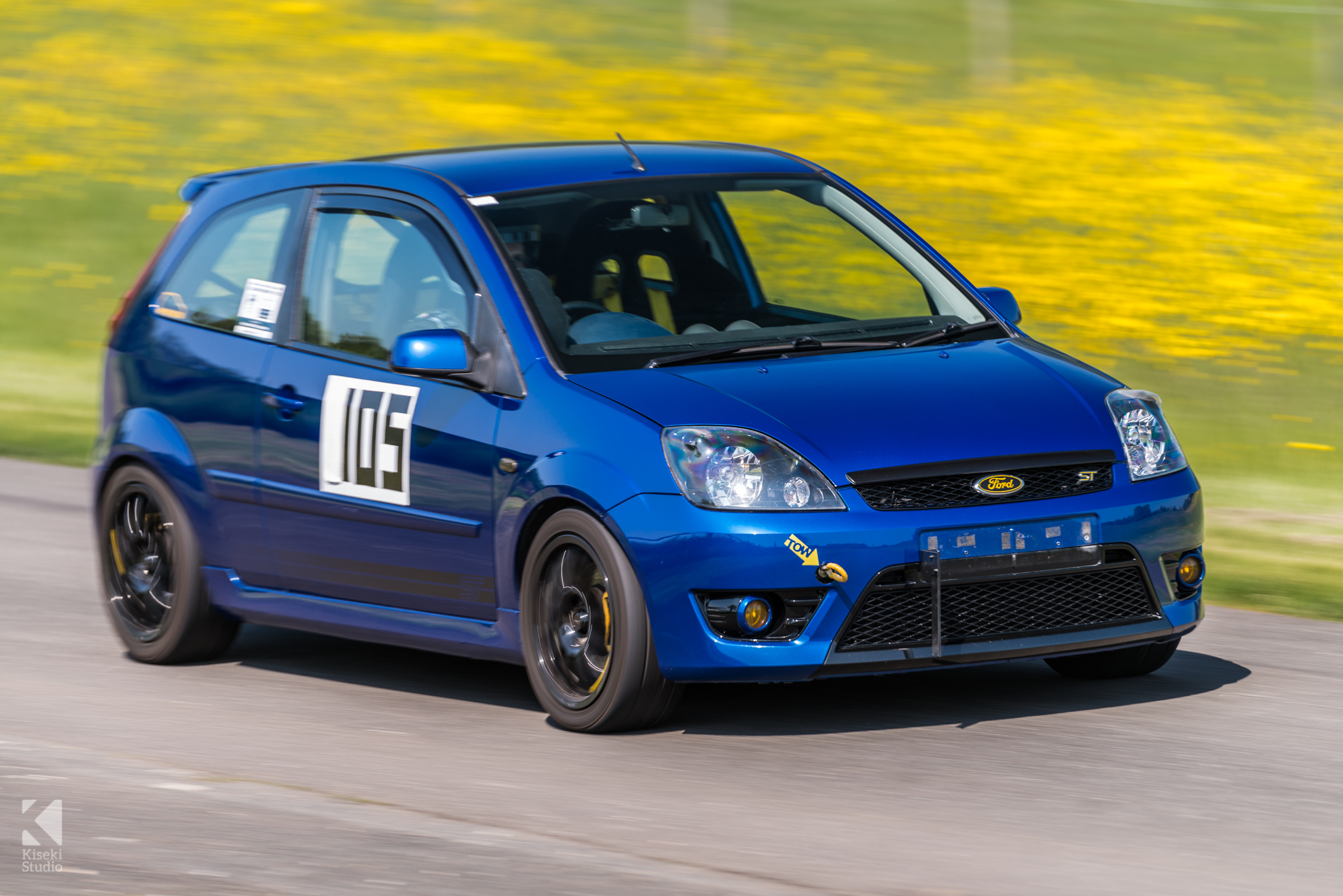 Ford Fiesta ST Mountune Blue Harewood