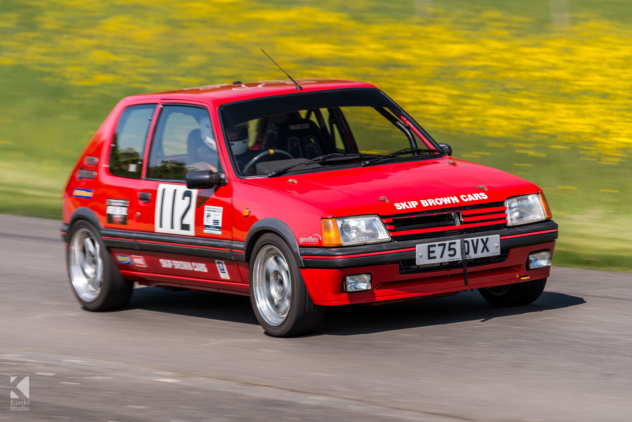 Peugeot 205 GTI Red Harewood