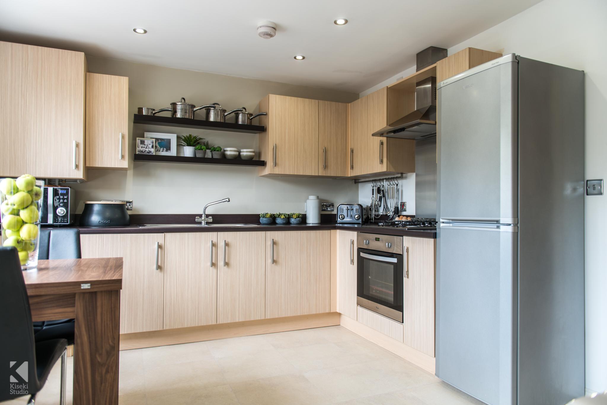 Modern Property Interior Kitchen Neutral Furnished Fresh Bright Warm in Baildon