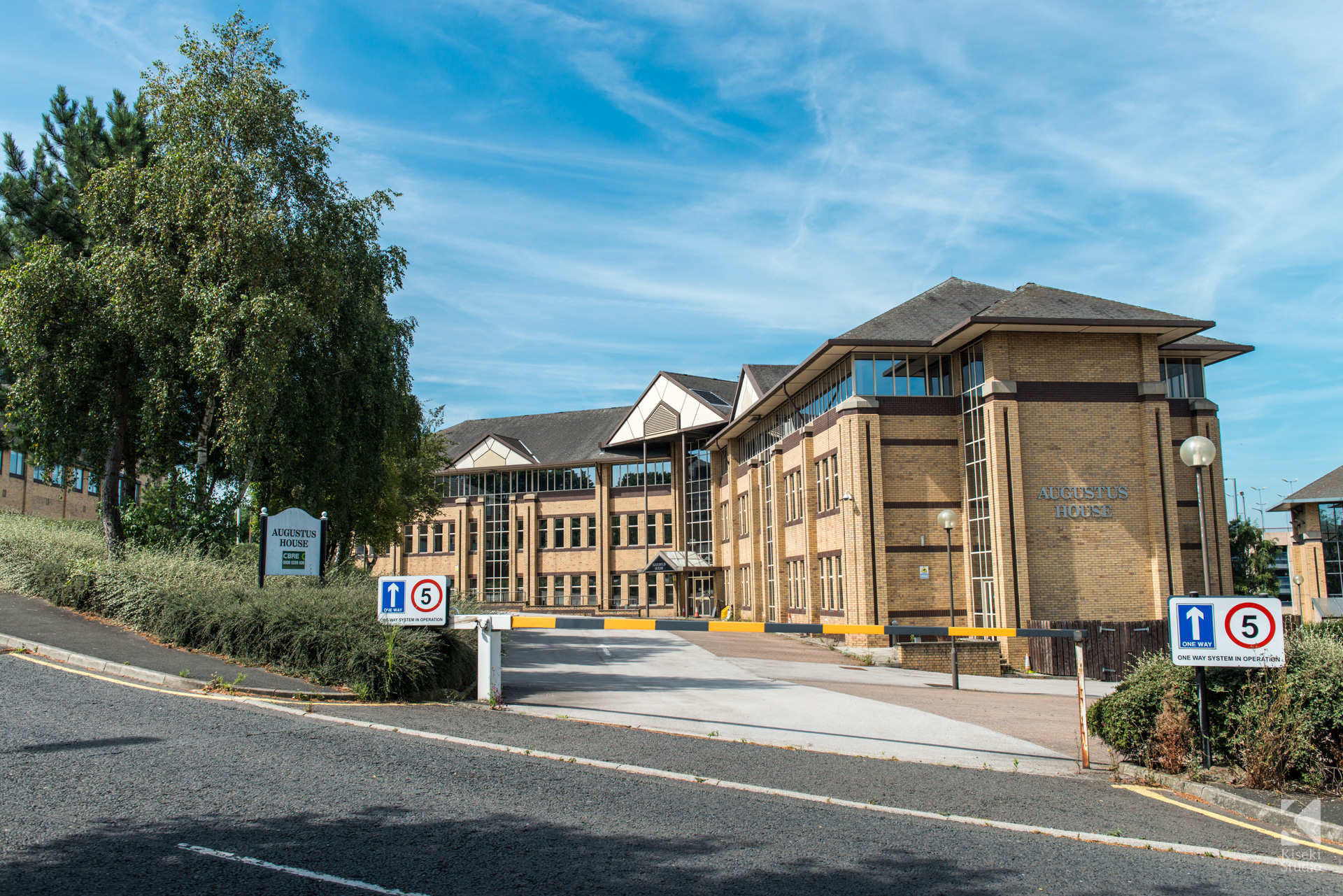 Augustus House Office Building Bradford Sunny Commercial Photography