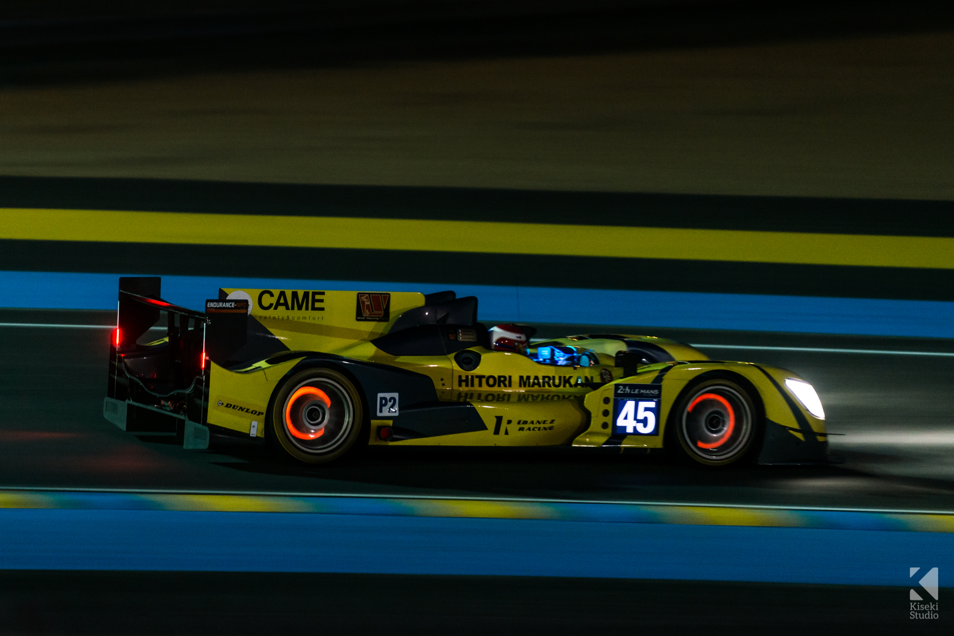 24 Hours of Le Mans - LMP2 Glowing Brakes