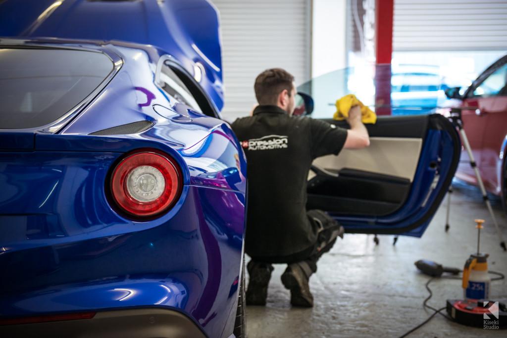Ferrari F12 Berlinetta V12 for window tints