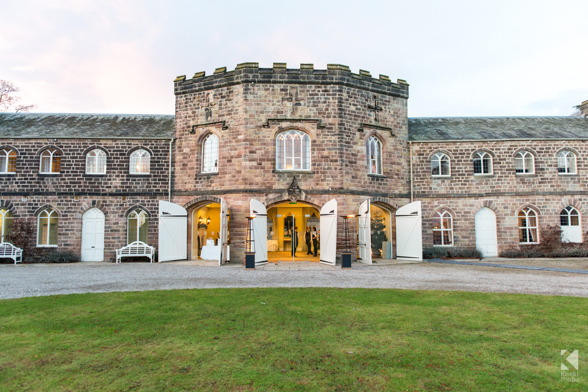 NYE Wedding at Ripley Castle - Reception Hall Venue