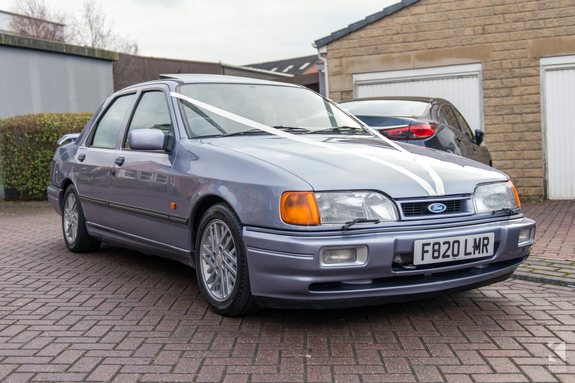 NYE Ford Sierra Sapphire Cosworth Wedding Car