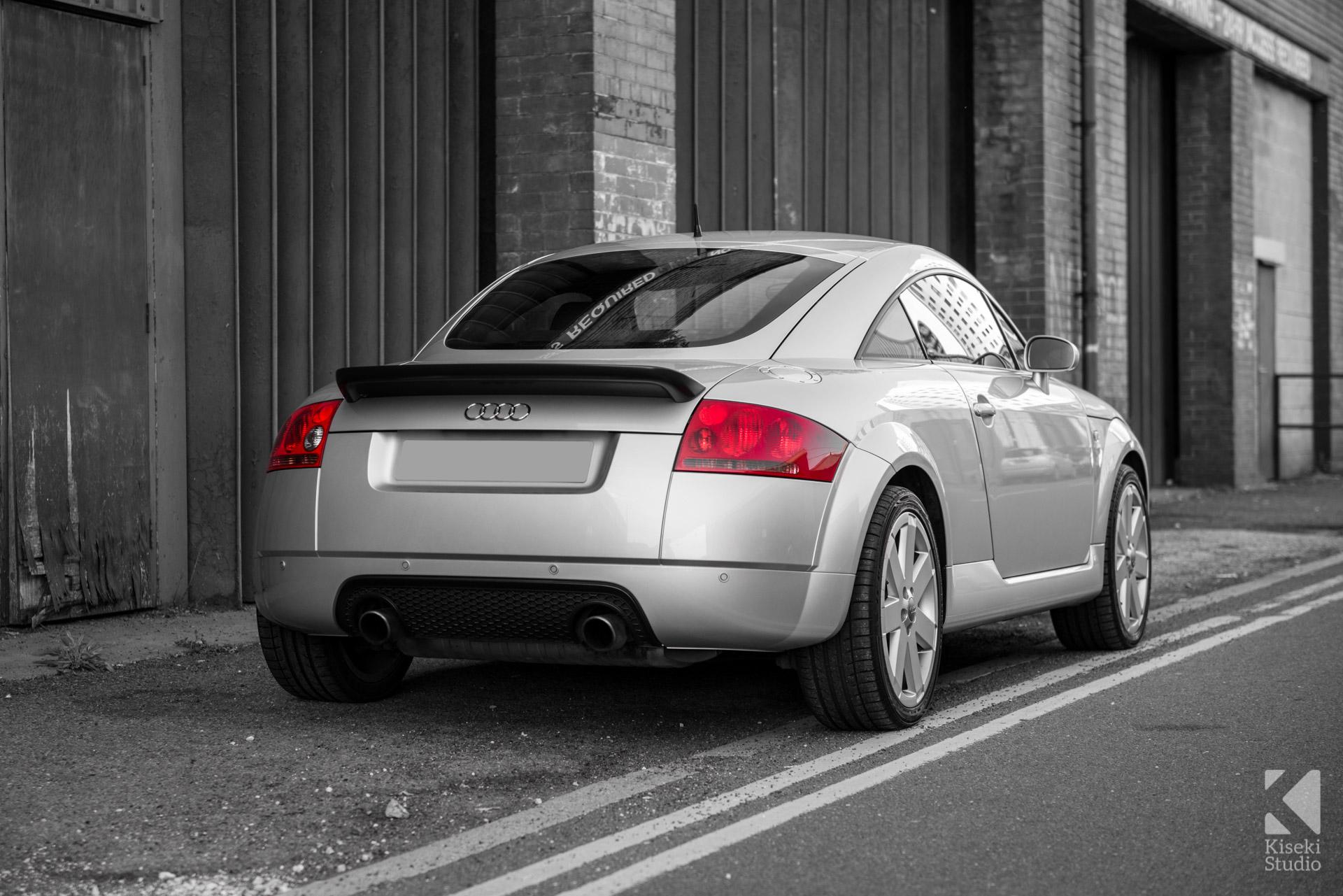 Audi TT V6 8N in Silver